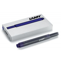 Lamy Blue-Black T10 Ink Cartridges 5 Pack