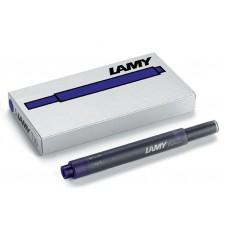 Lamy Blue-Black T10 Ink Cartridges 5 Pack