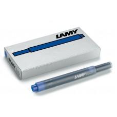 Lamy Blue T10 Ink Cartridges 5 Pack