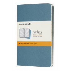 Cahier Pocket Brisk Blue Lined, 3 Pack