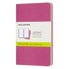 Cahier Pocket Kinetic Pink Lined, 3 Pack