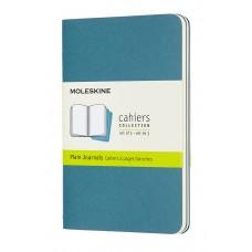Cahier Pocket Brisk Blue Blank, 3 Pack