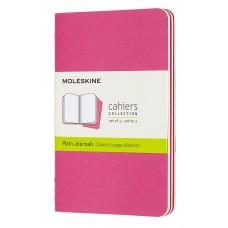 Cahier Pocket Kinetic Pink Blank, 3 Pack