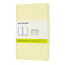 Cahier Pocket Tender Yellow Blank, 3 Pack