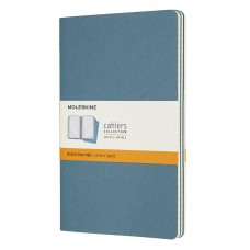 Cahier Large Brisk Blue Lined, 3 Pack