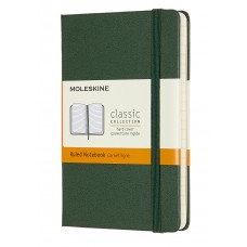 Classic Pocket Myrtle Green Ruled Notebook