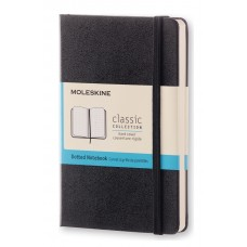 Classic Pocket Black Dot Grid Notebook