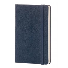 Classic Large Prussian Blue Ruled Notebook - Unpackaged