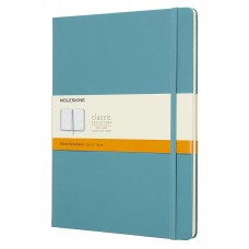 Classic Large Reef Blue Ruled Notebook