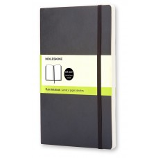 Classic Pocket Black Blank Notebook - Softcover