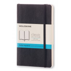 Classic Pocket Black Dot Grid Notebook - Softcover