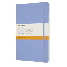 Classic Large Hydrangea Ruled Notebook - Softcover