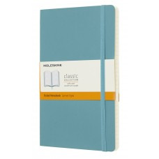 Classic Large Reef Blue Ruled Notebook - Softcover