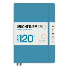 Medium Blank Nordic Blue Hardcover 120gsm