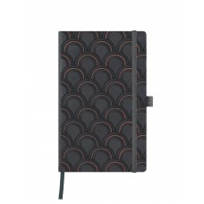 Art Deco Copper Notebook