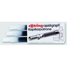 Rapidograph Cartridge Black Fine