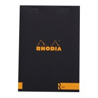 R by Rhodia Black A5 Cream Lined