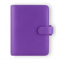 Saffiano Pocket Organiser Purple