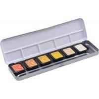6-Colour Pearlescent Metals Set