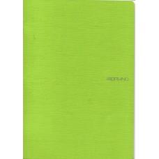 EcoQua A4 Lime Blank Notebook