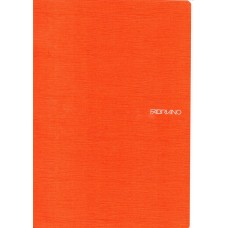 EcoQua A4 Orange Blank Notebook