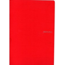 EcoQua A4 Raspberry Dot Grid Gummed Notebook