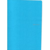 EcoQua A4 Turquoise Grid Notebook