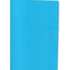 EcoQua A4 Turquoise Blank Notebook