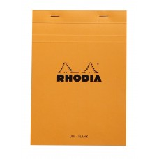Bloc Rhodia A5 Orange - Blank