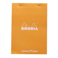 Bloc Rhodia A5 Orange - Dot Grid
