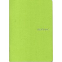 EcoQua A5 Lime Dot Grid Gummed Notebook