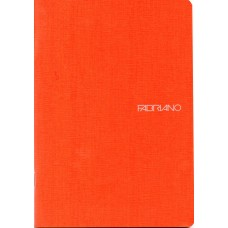 EcoQua A5 Orange Blank Notebook