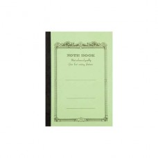 A6 Green lined notebook