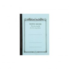 B5 Light blue lined notebook