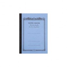 A5 Mid blue lined notebook