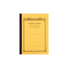 B5 Mustard lined notebook