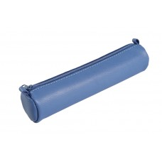 Age-Bag Leather Pen Case - Small Blue