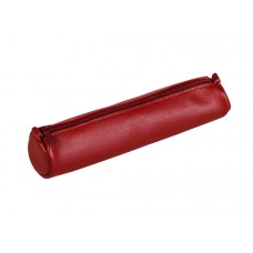 Age-Bag Leather Pen Case - Small Red