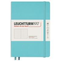 Medium Dotted Aquamarine Hardcover