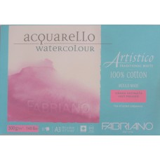 Artistico Aquarello 300gsm Hot Pressed Watercolour Pad - A3