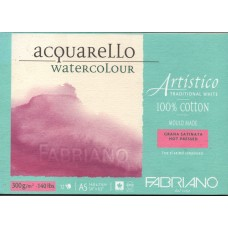 Artistico Aquarello 300gsm Hot Pressed Watercolour Pad - A5