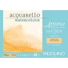 Artistico Aquarello 300gsm Cold Pressed Watercolour Pad - A5