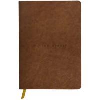 Flying Spirit A5 Leather Cognac Journal - Dot Grid