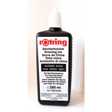 250ml Black Drawing Ink