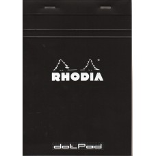 Bloc Rhodia A5 Black - Dot Grid