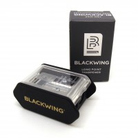 Blackwing two-step long point sharpener - black