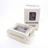 Blackwing two-step long point sharpener - white
