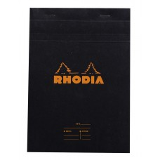 Bloc Rhodia A5 Black - Meeting