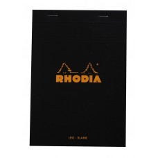 Bloc Rhodia A5 Black - Plain