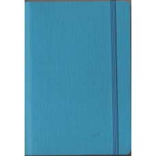 EcoQua A5 Bound Turquoise Dotted Notebook